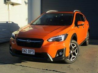 2018 Subaru XV G5X MY19 2.0i Premium Lineartronic AWD Orange 7 Speed Constant Variable Wagon.