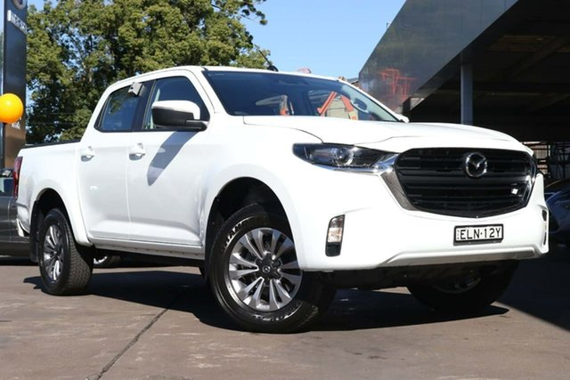 Used Mazda BT-50 TFS40J XT Waitara, 2020 Mazda BT-50 TFS40J XT White 6 Speed Sports Automatic Utility