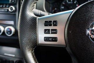 2013 Nissan Navara D40 S6 MY12 ST White 5 Speed Sports Automatic Utility