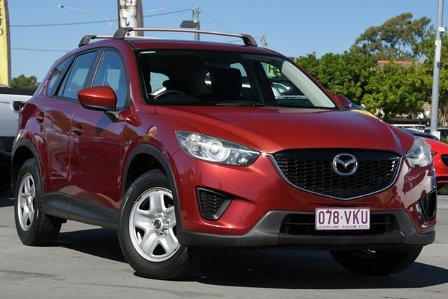 Used Mazda CX-5 KE1071 Maxx SKYACTIV-MT Aspley, 2012 Mazda CX-5 KE1071 Maxx SKYACTIV-MT Red 6 Speed Manual Wagon