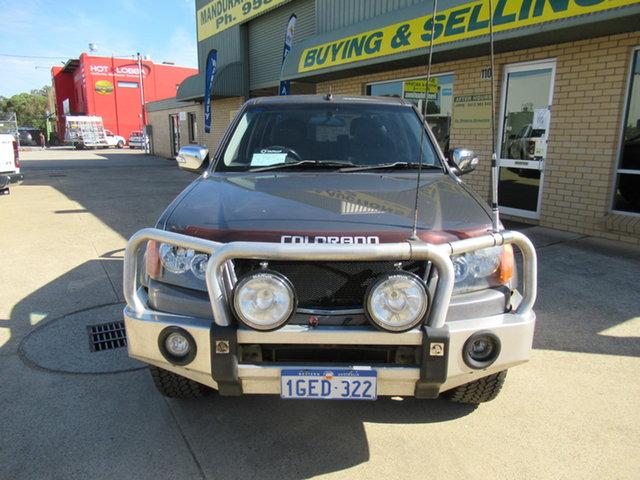 Used Holden Colorado RC LT-R (4x4) Mandurah, 2008 Holden Colorado RC LT-R (4x4) Silver 5 Speed Manual Utility