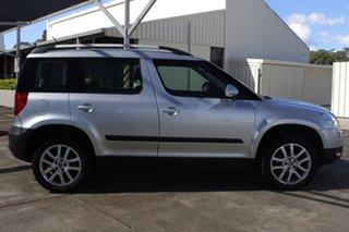 2012 Skoda Yeti 5L 112TSI DSG Silver 6 Speed Sports Automatic Dual Clutch Wagon.