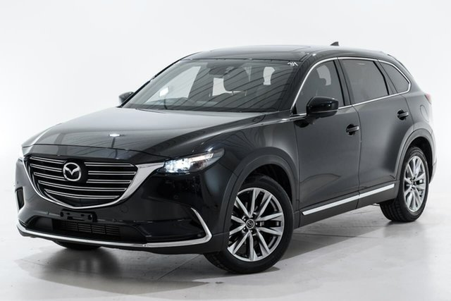 Used Mazda CX-9 TC GT SKYACTIV-Drive Berwick, 2016 Mazda CX-9 TC GT SKYACTIV-Drive Black 6 Speed Sports Automatic Wagon