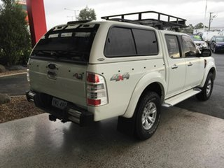 2009 Ford Ranger PJ XLT (4x4) White 5 Speed Automatic Dual Cab Pick-up