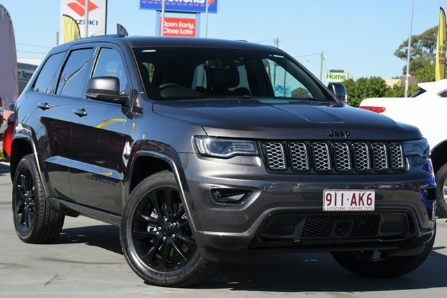 Used Jeep Grand Cherokee WK MY20 Night Eagle Aspley, 2020 Jeep Grand Cherokee WK MY20 Night Eagle Grey 8 Speed Sports Automatic Wagon
