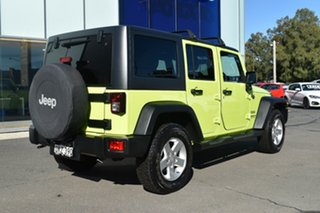 2016 Jeep Wrangler JK MY17 Unlimited Sport Hypergreen Clear Coat 5 Speed Automatic Softtop.