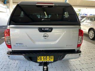 2015 Nissan Navara NP300 D23 ST-X Silver 7 Speed Sports Automatic Dual Cab Utility