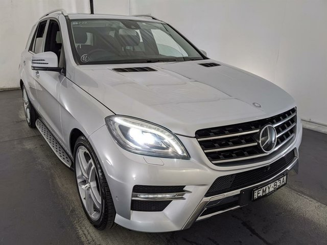 Used Mercedes-Benz M-Class W166 ML350 BlueEFFICIENCY 7G-Tronic + Maryville, 2013 Mercedes-Benz M-Class W166 ML350 BlueEFFICIENCY 7G-Tronic + Silver 7 Speed Sports Automatic