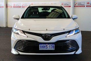 2020 Toyota Camry ASV70R Ascent Glacier White 6 Speed Sports Automatic Sedan.