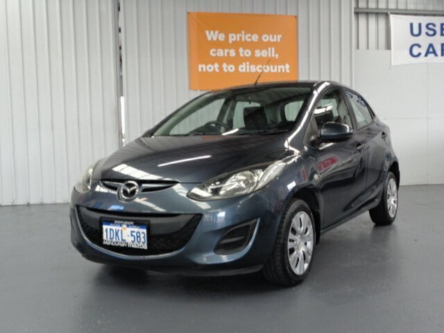 Used Mazda 2 DE10Y1 MY10 Neo Rockingham, 2010 Mazda 2 DE10Y1 MY10 Neo Grey 5 Speed Manual Hatchback