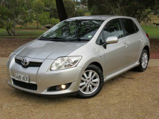 2008 Toyota Corolla ZRE152R Levin ZR Silver 4 Speed Automatic Hatchback.