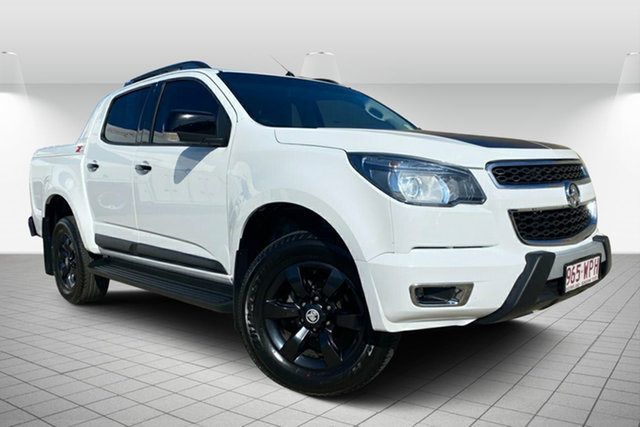 Used Holden Colorado RG MY16 Z71 Crew Cab Maryborough, 2016 Holden Colorado RG MY16 Z71 Crew Cab White 6 Speed Sports Automatic Utility
