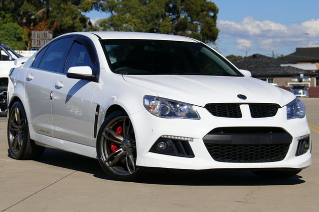 Used Holden Special Vehicles ClubSport Gen-F MY15 Chullora, 2015 Holden Special Vehicles ClubSport Gen-F MY15 White 6 Speed Sports Automatic Sedan