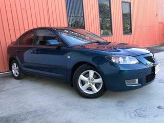 2007 Mazda 3 BK10F2 Maxx Sport Blue 4 Speed Sports Automatic Sedan.