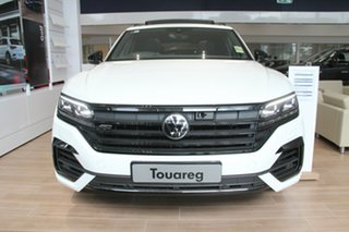 2021 Volkswagen Touareg CR MY21 210TDI Tiptronic 4MOTION Wolfsburg Edition White 8 Speed.