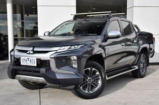 2019 Mitsubishi Triton MR MY19 GLS Double Cab Premium Grey 6 Speed Sports Automatic Utility