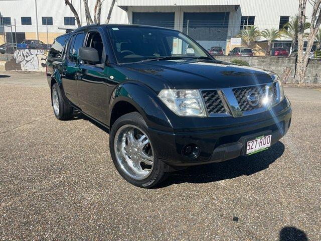 Used Nissan Navara D40 MY11 RX (4x2) Underwood, 2011 Nissan Navara D40 MY11 RX (4x2) Black 6 Speed Manual Dual Cab Pick-up