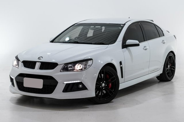 Used Holden Special Vehicles ClubSport Gen-F MY14 R8 Berwick, 2013 Holden Special Vehicles ClubSport Gen-F MY14 R8 White 6 Speed Manual Sedan