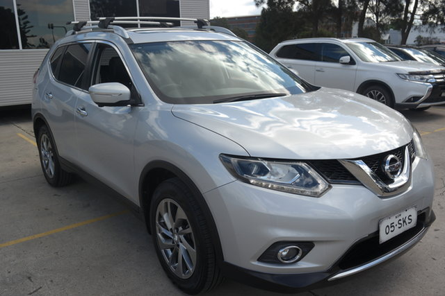 Used Nissan X-Trail T32 Ti X-tronic 4WD Maryville, 2015 Nissan X-Trail T32 Ti X-tronic 4WD Silver 7 Speed Constant Variable Wagon