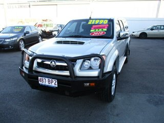 2010 Holden Colorado Silver 4 Speed Automatic Dual Cab.