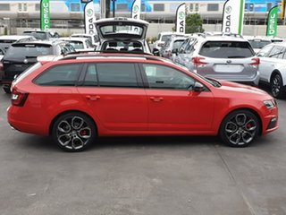 2019 Skoda Octavia NE MY19 RS DSG 245 Red 7 Speed Sports Automatic Dual Clutch Wagon.