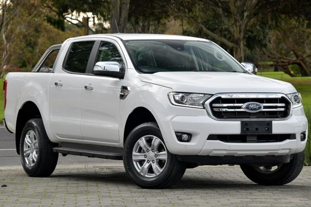 Used Ford Ranger PX MkIII 2019.00MY XLT Hi-Rider Dandenong, 2019 Ford Ranger PX MkIII 2019.00MY XLT Hi-Rider White 6 Speed Sports Automatic Double Cab Pick Up