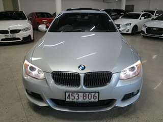 2012 BMW 3 Series E92 MY0312 330d Steptronic Silver 6 Speed Sports Automatic Coupe.