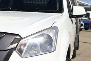 2018 Isuzu D-MAX MY18 SX 4x2 White 6 Speed Manual Cab Chassis