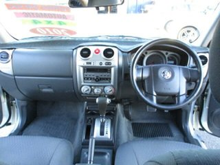2010 Holden Colorado Silver 4 Speed Automatic Dual Cab