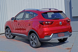 2020 MG ZS EV AZS1 MY21 Essence Red 1 Speed Reduction Gear Wagon.