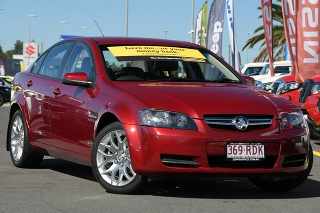 Used Holden Commodore VE MY10 Omega Aspley, 2010 Holden Commodore VE MY10 Omega Red 6 Speed Sports Automatic Sedan