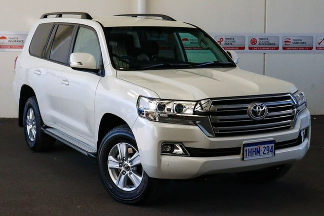 Pre-Owned Toyota Landcruiser VDJ200R GXL Myaree, 2021 Toyota Landcruiser VDJ200R GXL Crystal Pearl 6 Speed Sports Automatic Wagon