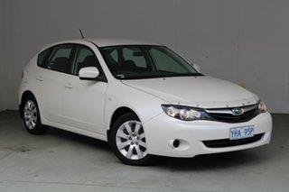 2010 Subaru Impreza G3 MY10 R AWD Satin White Pearl 4 Speed Sports Automatic Hatchback.