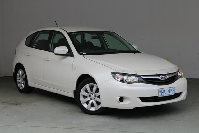 Used Subaru Impreza G3 MY10 R AWD Phillip, 2010 Subaru Impreza G3 MY10 R AWD Satin White Pearl 4 Speed Sports Automatic Hatchback