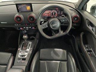 2018 Audi RS 3 8V MY18 S Tronic Quattro White 7 Speed Sports Automatic Dual Clutch Sedan