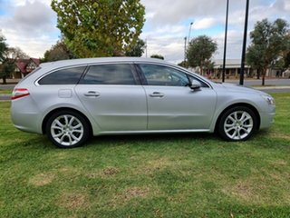 2011 Peugeot 508 Allure Touring Silver 6 Speed Sports Automatic Wagon.