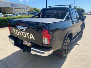 2017 Toyota Hilux GUN126R SR5 Double Cab Black/270417 6 Speed Manual Utility.