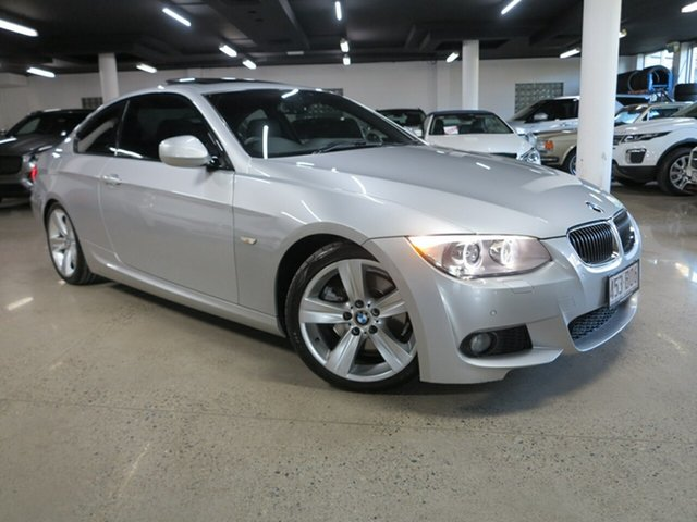 Used BMW 3 Series E92 MY0312 330d Steptronic Albion, 2012 BMW 3 Series E92 MY0312 330d Steptronic Silver 6 Speed Sports Automatic Coupe