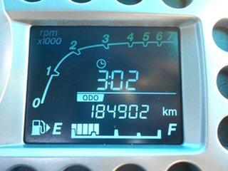 2010 Holden Barina Spark MJ MY11 CDX Silver 5 Speed Manual Hatchback
