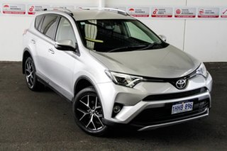 2016 Toyota RAV4 ZSA42R MY16 GXL (2WD) Silver Pearl Continuous Variable Wagon.