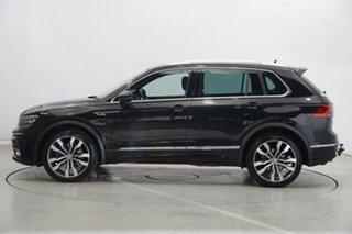 2017 Volkswagen Tiguan 5N MY18 140TDI DSG 4MOTION Highline Black 7 Speed.