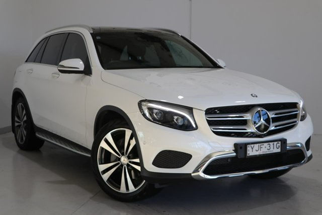 Used Mercedes-Benz GLC-Class X253 807MY GLC250 d 9G-Tronic 4MATIC Wagga Wagga, 2016 Mercedes-Benz GLC-Class X253 807MY GLC250 d 9G-Tronic 4MATIC White 9 Speed Sports Automatic
