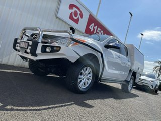 2013 Mazda BT-50 UP0YF1 GT White 6 Speed Sports Automatic Utility.