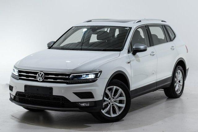 Used Volkswagen Tiguan 5N MY19.5 132TSI Comfortline DSG 4MOTION Allspace Berwick, 2019 Volkswagen Tiguan 5N MY19.5 132TSI Comfortline DSG 4MOTION Allspace White 7 Speed