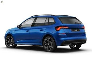 2021 Skoda Kamiq NW MY21 110TSI DSG FWD Monte Carlo Blue 7 Speed Sports Automatic Dual Clutch Wagon.
