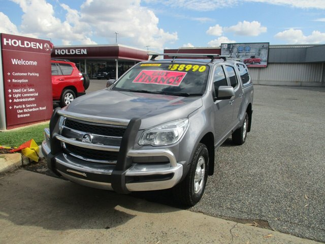 Used Holden Colorado RG MY16 LS Crew Cab North Rockhampton, 2016 Holden Colorado RG MY16 LS Crew Cab Grey 6 Speed Manual Utility