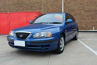 2006 Hyundai Elantra XD MY05 FX 2.0 HVT Blue 4 Speed Automatic Hatchback