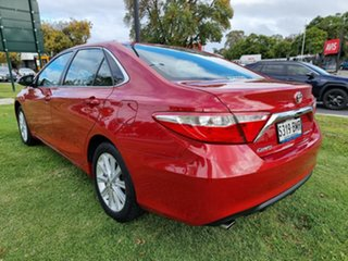 2015 Toyota Camry ASV50R Atara S Red/Black 6 Speed Sports Automatic Sedan
