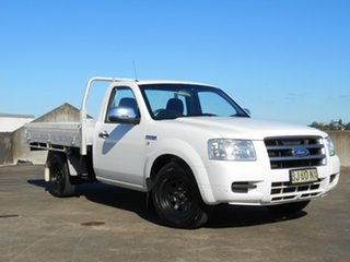 2006 Ford Ranger PJ XL White 5 Speed Manual Cab Chassis.
