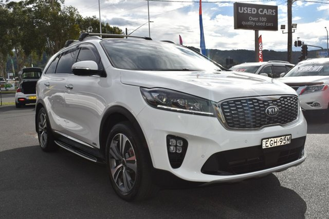 Used Kia Sorento UM MY19 GT-Line AWD Gosford, 2019 Kia Sorento UM MY19 GT-Line AWD White 8 Speed Sports Automatic Wagon